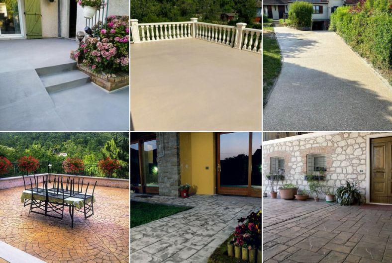 Les différents revêtements décoratifs pour sols extérieurs